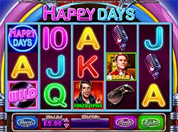 Play Happy Days Slot