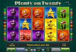 Plenty on Twenty Slot Online