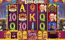 Play The Love Guru Slot