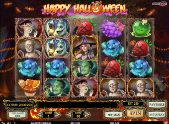 Happy Halloween Slot – Gameplay