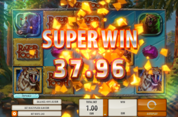 Razortooth Slot Machine – Random Wild Win