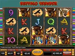 Play Buffalo Thunder Slot