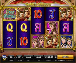 Play Golden Odyssey Slot