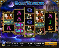 Play Moon Warriors Slot