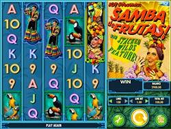 Play Samba de Frutas slot machine