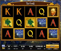 Play Van Gogh Slot Machine