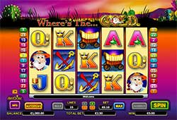 Play Where's the Gold Slot Machine