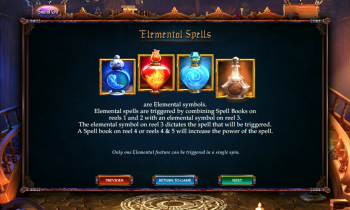 Alkemors Tower – Elemental Spells