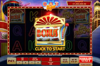 Cat in Vegas – Bonus Start