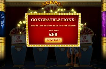 Cat in Vegas – Bonus Win
