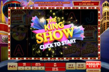 Cat in Vegas – King Show Start