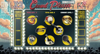Guns-n-Roses – Crowd Pleaser Bonus Game