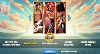 Guns-n-Roses – Splash Screen