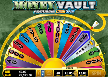 Money Vault – Cash Wheel