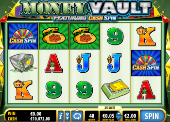 Money Vault – Game Play 2