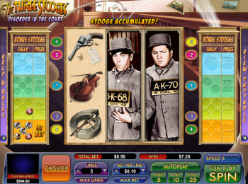 The Three Stooges – Disorder in the Court – Free Spins
