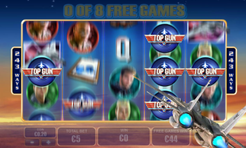 Top Gun Slot – Free Spins 1