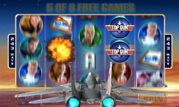 Top Gun Slot – Free Spins 3