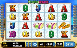Cash Wave Slot by Bally