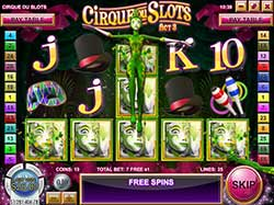 Play Cirque du Slots Online free