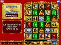 Free Da Vinci Diamonds Dual Play Slots Online