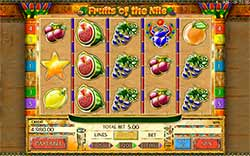 Play Fruits of the Nile Slot