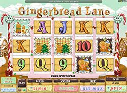 Play Gingerbread Lane Slot