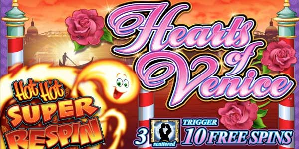 Hearts Of Venice Slot Machine
