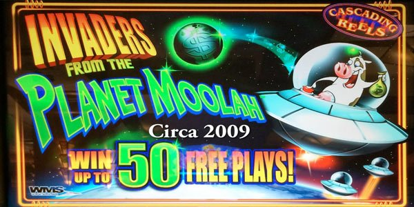 Invaders from the Planet Moolah WMS Slots Slotorama