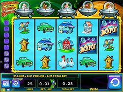 Play the free Invaders from the Planet Moolah Slot