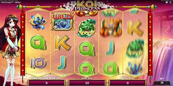 Koi Princess Slot Machine Online ᐈ NetEnt™ Casino Slots