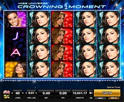 Play Miss Universe Crowning Moment Slot