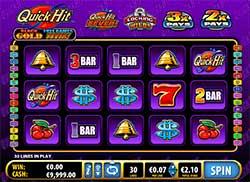 Play Quick Hit Black Gold Slot