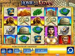Play Rome & Egypt Slot Free Online