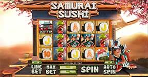 Play Samurai Sushi Slot