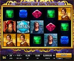 Play Secrets of Da Vinci Slot