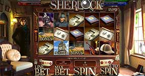 Play Sherlock Slot