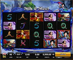 Play Silk and Steel Slot Online
