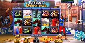 Play Street Basketball Slot