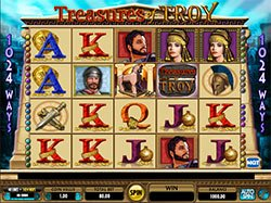 Play Treasures of Troy Slot Machine