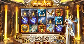 Play Zeus King of Gods Slot