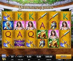 Play Diamonds of Athens Slot