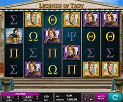 Play Legends of Troy Slot