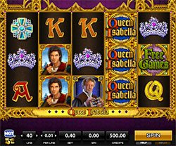 Play Queen Isabella Slot