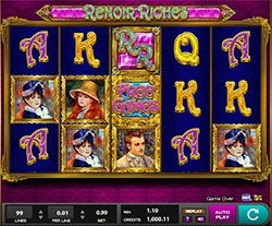 Play Renoir Riches Slot Online