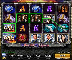 Play The Amulet and the Charm Slot