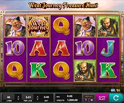 Play West Journey Treasure Hunt Slot