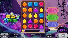 Play Bonus Beans Slot