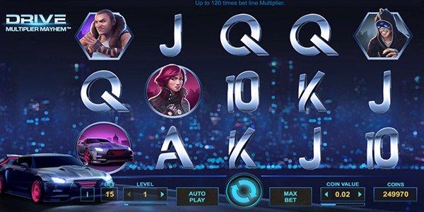 Drive: Multiplier Mayhem Slot Machine Online ᐈ NetEnt™ Casino Slots