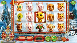 Play 4 Seasons Slot Machine Online